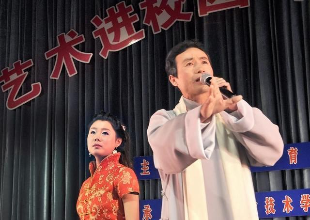 合肥蜀山区戏剧家协会主席何永东演出照