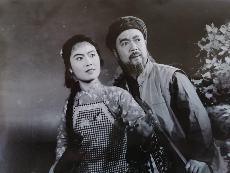 梅伟慈与王少舫先生演出剧照