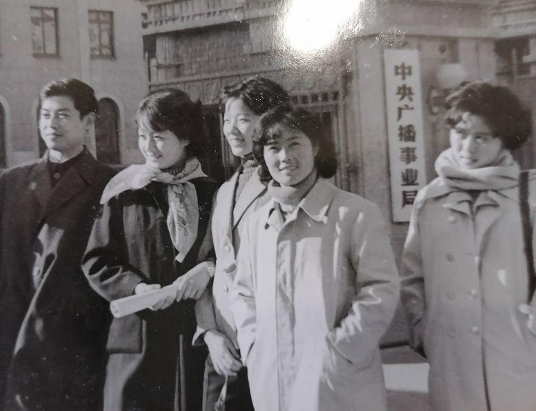 梅伟慈与马兰等在北京中央电视台录节目