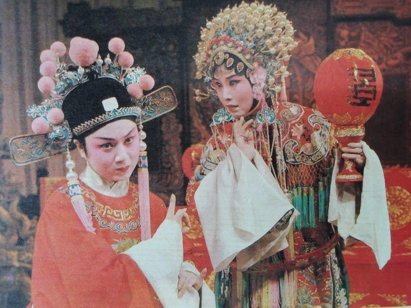 梅伟慈在《女驸马》剧中饰演公主