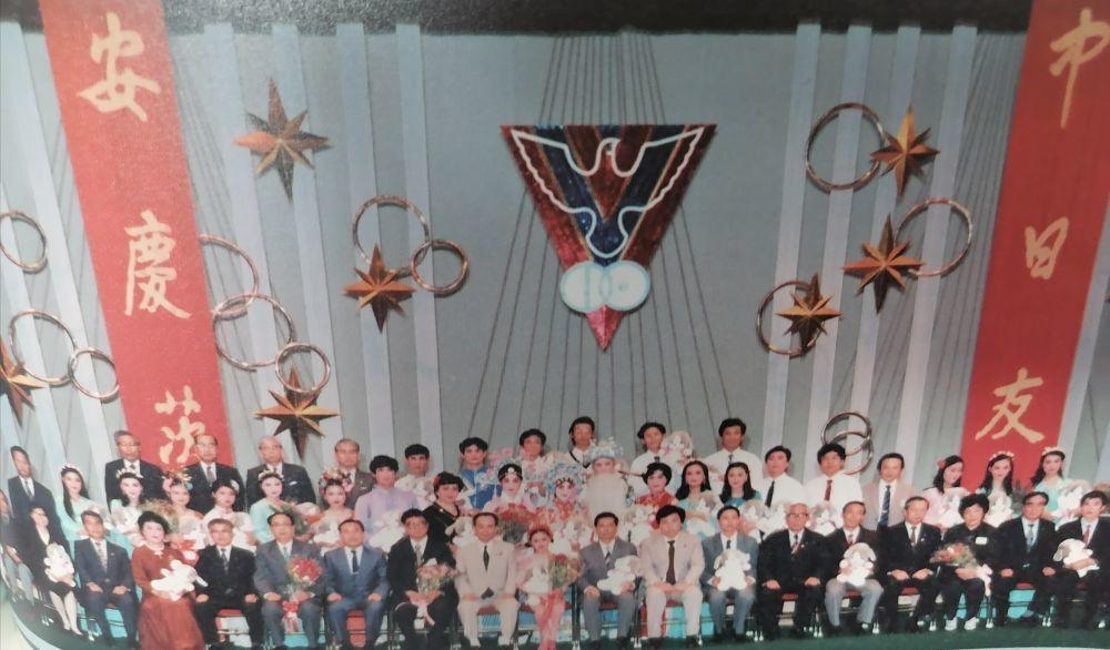 方宝玲随剧团在日本茨木市访问演出